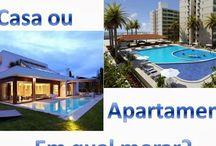 Melhor casa ou apartamento? Veja as vantagens e desvantagens!