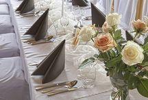 Jaś wesela + dekoracja stołów