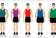 Body shapes Men