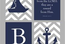Nautical/Pirate Theme Baby Shower / Nautical/Ocean/Pirate Theme / by Miranda Holman