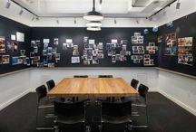 Brainstorming room & Brainstorming wall