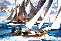 Art - Ships,  Boats and the Sea / by Judy McKay