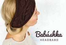 Headband / Handmade knitted accessories