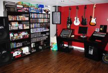 Game Room Music Room