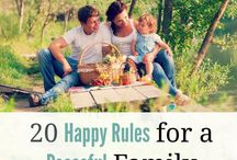 Building a Happy Family / Creating a happy family take intentional effort. How to raise children who are happy and healthy, siblings who get along, and create a family culture that make your kids want to come home long after they are grown.