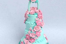 Turquoise pink wedding color scheme