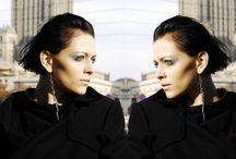 #WEARINWARSAWEARINWARSAWEARINWARSAWEARINWARSAW / The photo session for SZMER-craft & W.I.L.K. Model: Katarzyna Zalewska  Photography: Paulina Makowska  Make up: SZMER-craft Jewelry: SZMER-craft Fashion designer: WILK