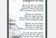 Daughter in law verses