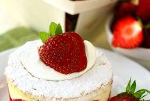 Bær/frugt - kager
