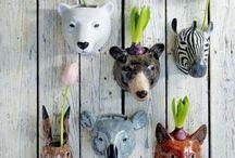 Ceramics, animals