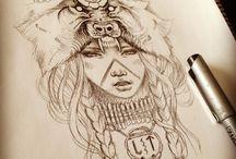 Girls Tattoo