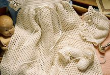 Crochet for Babies - Clothes and Accessories / Patterns and links to baby clothes, booties, sweaters, hats / by Monika Farmer