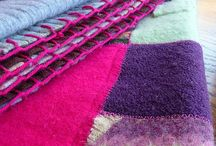 OLD SWEATERS: RECYLING THEM / RECYLING  OLD SWEATERS... / by Sherry Byrd