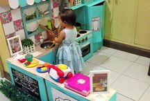 Casita de muñecas y mobiliaros kids