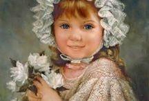 Children in art: Sandra Kuck