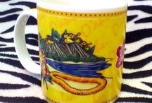 Collectible Coffee Mugs and Teacups / by 44collectingdust44