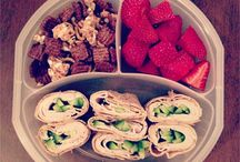 Mellis / Nyttiga mellanmål och utflyktsluncher.  Healthy snacks and lunches.