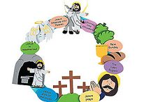 Easter for kids / Collecting ideas to teach kids about easter
