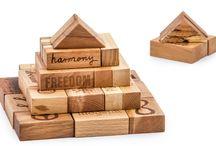 Wooden Story / Drewniane, ekologiczne klocki polskiej firmy Wooden Story.