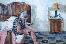 Herman van Hoogdalen / Strandgezichten, portretten, interieurs en reisimpressies van een veelzijdig en bedreven schilder. Een internationaal bekend en gerespecteerd kunstenaar die zijn betrokkenheid toont aan de hand van de realiteit en actualiteit van de onderwerpen.