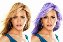 Hair Coloring Quickly And Easily In Photoshop / Hair Coloring Quickly And Easily In Photoshop