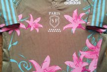 Classic Stade Francais Rugby Shirts / Vintage authentic Stade Francais rugby shirts from the past 30 years. Legendary seasons and memorable moments of yesteryear. 100's of classic jerseys in store. Worldwide Shipping   Free UK Delivery