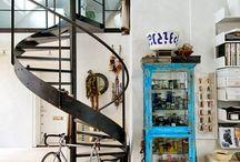escalier, entrée / by Ludivine Gray