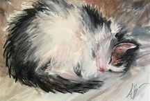 Kissat nukkuu 2
