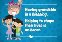 I Love Granny / The relationship between Grandparents and Grandchildren is one of the most special in the entire life of us Oldsters !!
