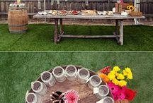 décoration repas de fête
