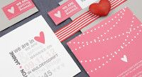 Stationary, Invites and Save the Dates