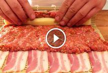 Darált húsos tekercs és más finomságok