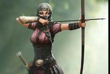 guerrer@s