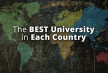 The Best Universities in Each Country of the World / TheBestSchools.org lists the top universities in each nation, which additional, in-depth pages on best colleges per continent.