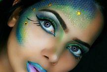 Makijaż syreny