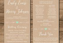 Wedding Info/Cards/Invites