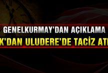 Uludere'de PKK'dan taciz ateşi