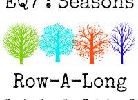 EQ Seasons Row Along / by Marian Pena