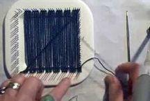 Hand Loom Weaving