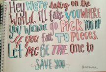 Lyrics & tatts