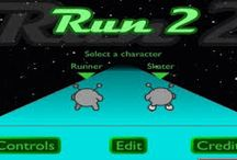 Play Run 2 / Run 2 game is next games in run series, now you can play run game with more and more level. Try to run as far as possible, good luck