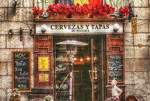 Cafenele, baruri, restaurante, ceainarii...