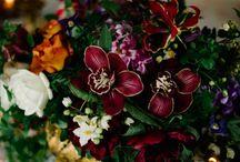 Burgundy Gold Wedding Inspiration