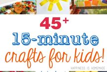 Kids Crafts / Crafty things to do with your children!