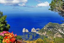 Capri - Private Walking Tour / Our Private Walking Tour to visit the island of Capri with a local guide. An occasion to enjoy a walk in Capri town with its  narrow shopping streets, to walk through the Gardens of Augustus, to visit Anacapri and the Mount Solaro and discover the blue-colored waters of the  Blue Grotto http://www.naplestoamalficoast.com/tour/tour-guide/capri-private-walking-tour/