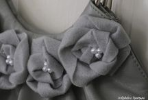 Cloth, Paper & Tissue Flowers / by Judy Hanses
