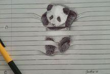 Çizgili çizim