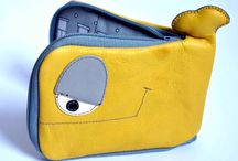 Funny bags and wallets by Wild to Wear / Handmade, wearable creatures!!