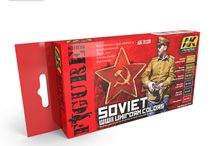 Review - AK3120 / Another review of our Soviet WWII Uniform Colors set.