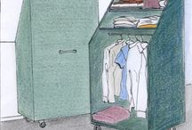 Garderobe loft